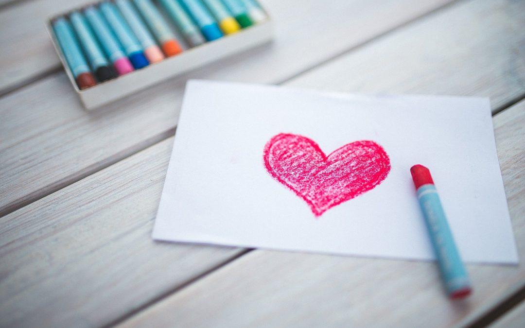De l'amour plié en deux